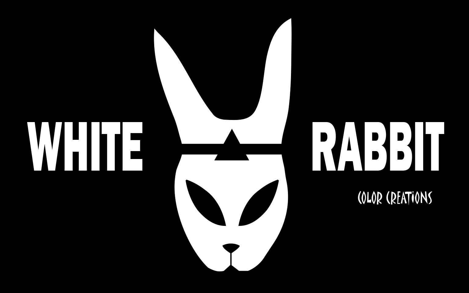 White Rabbit Color Creations Logo